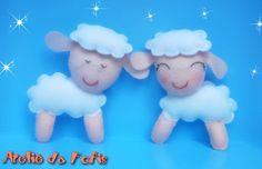 As doces ovelhinhas agora são tendência na decoração para quarto de bebê.