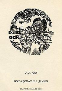 Don Quijote, Quijote, Ex Libris Ex Libris P.f. 1980 por Oriol Divi, España