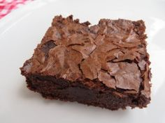 Fudgy brownies, vegan