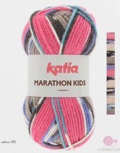 e6cd9d30a7a Katia Marathon Kids   La laine Marathon Kids de Katia est une nouveauté de  lhiver 2013