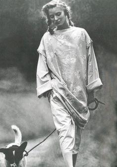 Christiana Steidten by Francois Lamy, 1975.