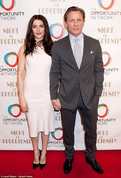 Honorees: The couple were being celebrated at the 7th Annual Night of Opportunity Gala for...