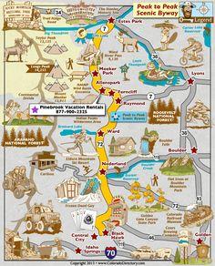 Map Of Casinos In Colorado : casinos, colorado, Black, Colorado, Ideas, Colorado,