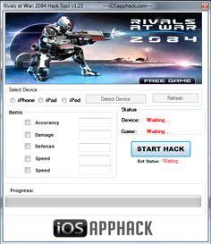 Rivals at War 2084 Hack Free Games, Ipod, Hacks, War, Ipods, Tips