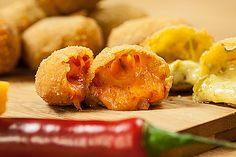 Chili Cheese Nuggets, ein raffiniertes Rezept aus der Kategorie Warm. Bewertungen: 11. Durchschnitt: Ø 4,5.
