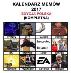 Repostuj.pl - 115 | Kalendarz memów 2017! Cringe, I Am Awesome, Humor, Memes, Life, Dog, Diy Dog, Humour, Meme