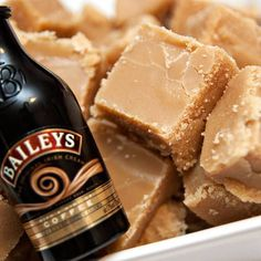 Homemade Microwave Baileys Fudge: 14 ounces Condensed Milk 5 ounces Butter 8 1/2 ounces Caster Sugar 8 1/2 ounces Soft Brown Sugar 1 1/2 teaspoons Vanilla Extract 2 tablespoons Baileys