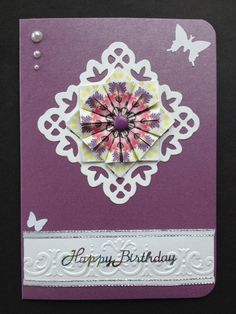 Tea bag folding card