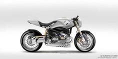 "Racing Cafè: Design Corner - BMW ""R 1200 R Mystic Cafè Racer"" by Petit Motorcycle Crèation"