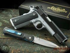 Heirloom Precission, Guns, Best in the business Custom 1911, Custom Guns, 1911 Pistol, Colt 1911, Weapons Guns, Guns And Ammo, 1911 Parts, Striker Fired, Tac Gear