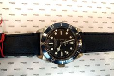 Complete with box and papers, Heritage Black Bay Leather Blue Bezel - Tudor Heritage Black Bay Black Index Stainless Steel Leather &. Tudor Heritage Black Bay, Stainless Steel, Watches, Box, Leather, Accessories, Wristwatches, Clock, Boxes