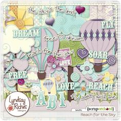 reach for the sky - scrap orchard kit