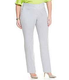 Investments Plus 5TH AVE fit Modern StraightPants #Dillards