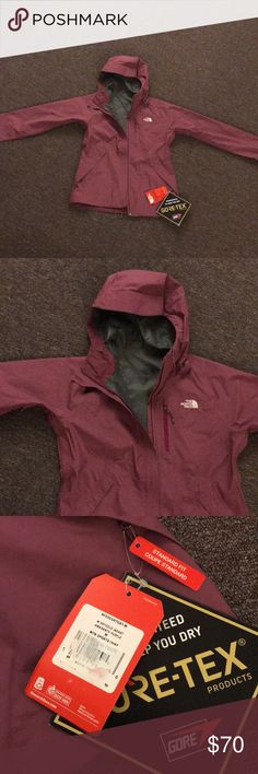 The North Face Venture 2 Rain Jacket Women's M Amaranth Purple. Brand new, never worn. The North Face Jackets & Coats