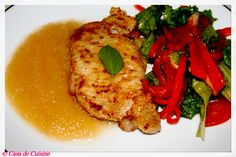 From The Food of Downton Abbey: Apple Cider Pork Chops! The FREE recipe at The Food of Downton Abbey @ http://on.fb.me/1hKjDbQ