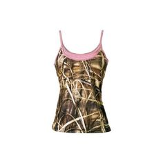 Team Realtree Women's Layered Cami ($20) ❤ liked on Polyvore