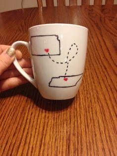 DIY sharpie mug!