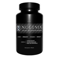 NUGENIX NATURAL TESTOSTERONE BOOSTER DIETARY SUPPLEMENT 90 CAPSULES