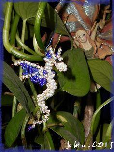 Dragon en perles de Rocaille