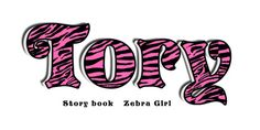 Items similar to Wooden Letters ZEBRA GIRL - listing is for 4 letters- See other wooden letter photos in Zebra Girl on Etsy
