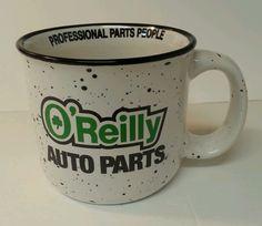 O'Reilly Auto Parts shamrock Irish promotional advertising Coffee Mug Cup