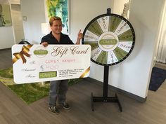 """Woah, can you believe your eyes?! We still haven't pumped the breaks on these giveaways!  Corey got $400 because he renewed his lease  and spun the wheel! Do NOT wait to sign✏, prices are going ⬆! Spin and win up to $400 AND be entered into our MEGA GIVEAWAY TODAY! When """"wheel"""" you spin?"""