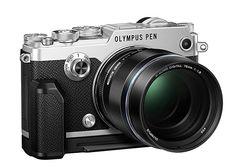 Olympus Pen-F with Zuiko lens Camera With Flip Screen, Olympus Pen F, Mens Gear, Camera Reviews, Gadget Gifts, Camera Gear, Photography Camera, Vintage Cameras