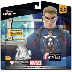 Closer Look At Disney Infinity 3.0 Marvel Battlegrounds Play Set & Free Marvel Figure With Pre-Orders