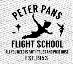 Take flight with Peter Pan with this fun digital desing Format: SVG/JPG Run Disney, Disney Trips, Peter Pans Flight, Circuit Machine, Disney Rooms, Disney Images, Silhouette Cameo Projects, Cricut Creations, Vinyl Crafts