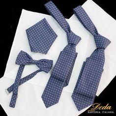 Ultimi arrivati in casa #Deda!  Da oggi impreziosisci la tua #camicia con accessori esclusivi firmati Deda. #cravatte #papillon
