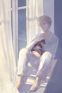 Jimin - serendipity fanart Credit to the owner Jimin Fanart, Kpop Fanart, Fanarts Anime, Anime Chibi, Manga Anime, Anime Art, Fan Art, Vaporwave Anime, Bts Drawings
