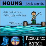 NOUNS task cards - parts of speech