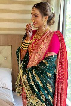 Bridal Hairdo, Bridal Photoshoot, Bridal Silk Saree, Saree Wedding, Wedding Dress, Marathi Bride, Marathi Saree, Bridal Looks, Bridal Style