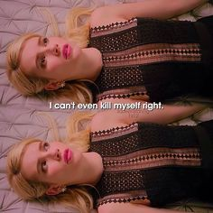 and if im being real ive tryed and i fail thats when i noticed that not even death wants Scream Queens Quotes, Glen Powell, Scooby Doo Mystery Incorporated, Veronica, Chanel Oberlin, Billie Lourd, Jamie Lee Curtis, Anthology Series, Jack Johnson