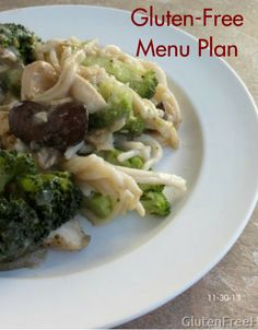 Gluten-Free Menu Plan 11-30-13   The Gluten-Free Homemaker