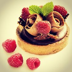 Find our recipe for a delicious chocolate tart on our blog