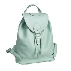 Zatchels Mint Backpack was now Pastel Backpack, Leather Backpack, Little Backpacks, Stylish Handbags, Women Brands, Beautiful Bags, Fashion Backpack, Turquoise