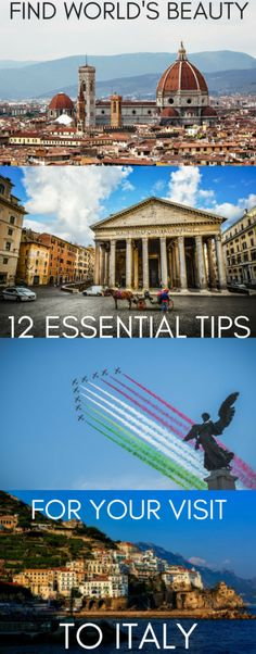 12 essential tips for your visit to Italy – Find World's Beauty