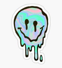 Hologram Smile Sticker