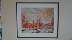 Tom Thomson--Spring Flood-- Ltd Art Print Group of Seven | eBay $34.99