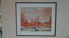 Tom Thomson--Spring Flood-- Ltd Art Print Group of Seven | eBay $34.99