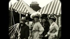 September 1902 - Fair in North England, Leeds (Speed Corrected w/ Sound) Vintage Videos, Vintage Movies, Vintage Photos, Vintage Cars, Old Photography, History Of Photography, Street Photography, Vintage Dance, Victorian Life