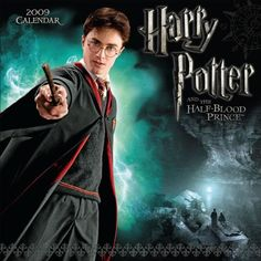 Harry Potter and the Half Blood Prince: 2009 Wall Calendar @ niftywarehouse.com #NiftyWarehouse #HarryPotter #Wizards #Books #Movies #Sorcerer #Wizard