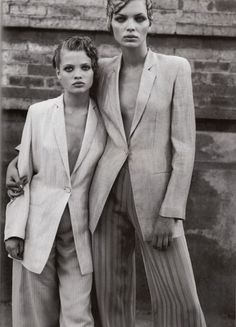Vogue IT - Attractiveness - Ester Canadas & Melanie Thierry - Mar 1998