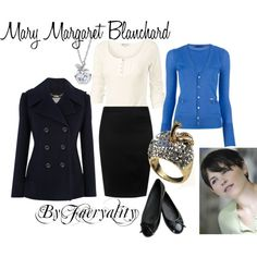 """""""Mary Margaret Blanchard"""" by faeryality on Polyvore"""