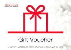 Kurs języka angielskiego via Skype w prezencie na Gwiazdkę? Szczegóły: kontakt@active-learning lub 13 49 380 31. Gift Vouchers, Symbols, Peace, Learning, Artwork, Gifts, Work Of Art, Presents, Auguste Rodin Artwork