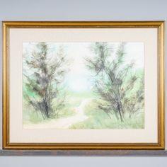 Halonen, signeerattu 48 x 67 cm. Windows, Design, Ramen, Window