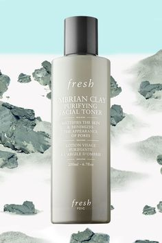 Tend to get shiny by lunchtime? Apply this toner before your moisturizer. The high mineral content of this special Umbrian clay helps skin stay matte throughout the day and shrinks the appearance of pores. Cinnamon bark, burnet root, and lavender floral water also help keep oily skin in check.  Fresh Umbrian Clay Purifying Facial Toner, $35, sephora.com