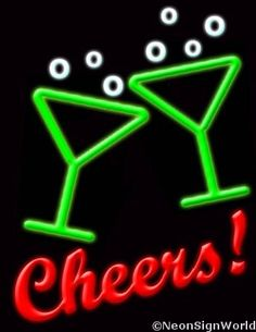 Cheers L. Home Bar Signs, Neon Bar Signs, Neon Sign Art, Vintage Beer Signs, Funny Bar Signs, Homemade Beer, Neon Room, Sign Lighting, Old Signs