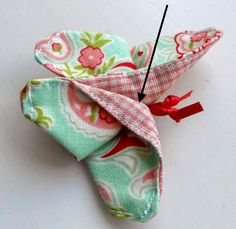 The Patchsmith: Origami Fabric Butterflies from Across the Pond